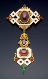 Broche de 1830 que pertenceu á Rainha Vitória.