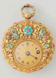 Relógio de mulher, 1830.