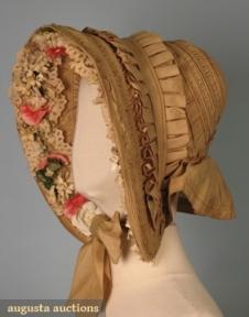 Bonnet de 1840, lateral.
