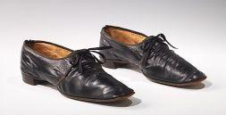 Sapato americano feito de couro, 1848.