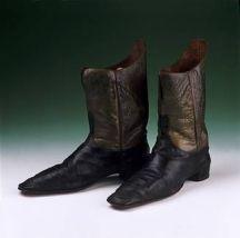 Botas de 1849.