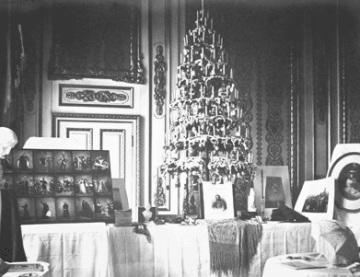 Árvore de Natal de 1857.