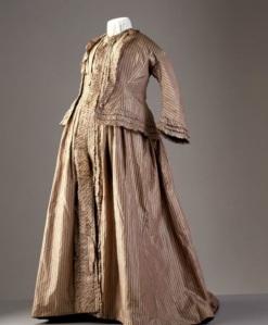 Vestido de grávida da Inglaterra, 1858 - 1860.