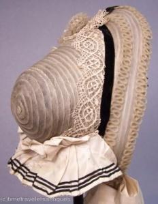 Bonnet de 1860.