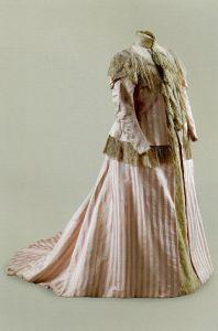 Vestido de grávida de 1899.
