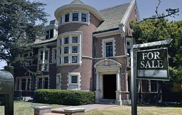 """A """"Murder House"""" usada na série American Horror Story era uma mistura do período vitoriano, renascentista e gótico."""