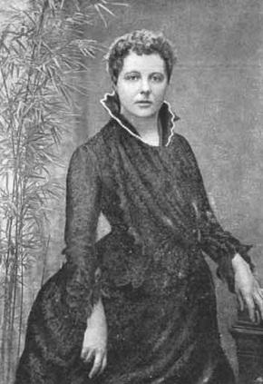 Annie Besant por volta de 1885.