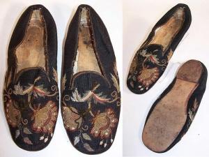 Sapatos de Berlim, da Guerra Civil americana, 1860.