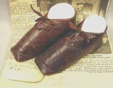Sapatos para meninos, 1834.