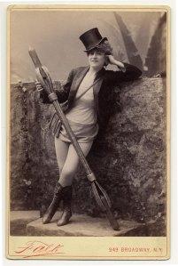 Vernona Jabeau em 1890.