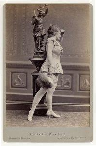 Gussie Crayton em 1890