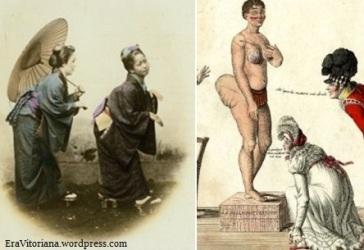 A curvatura grega ainda poderia ter origem no Japão ou de mulheres sul-africanas.
