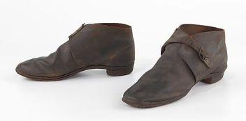 Sapato americano 'Brogans', 1860 - 1865.