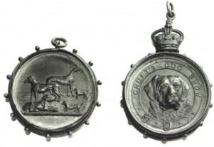 Exemplar de medalhas dadas ao vencedor.