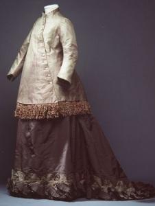 Roupa de sair de grávida, 1870 - 1879.