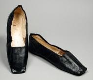 Sapatos da República Checa de 1850.