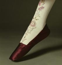 Sapatos de 1830.