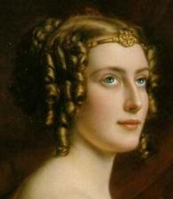 Lady Jane Elizabeth Digby em um retrato de 1831.
