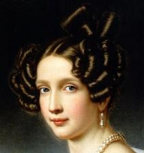 Sofia, Arquiduquesa da Áustria, em 1832.