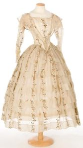 Vestido de 1840.