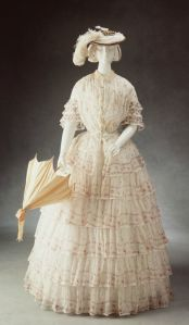 Vestido australiano de 1845.