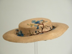 Chapéu de 1850 - 1860.