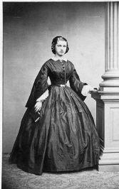 Mulher desconhecida em 1850.