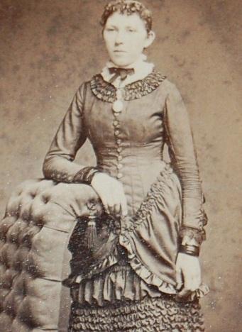 Mulher desconhecida, 1880.