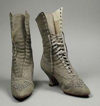 Botas de 1890.