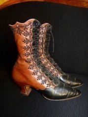 Botas de 1895.