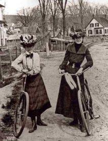 Ciclistas, 1896.