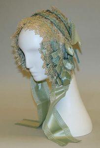Bonnet de 1845 - 1850.