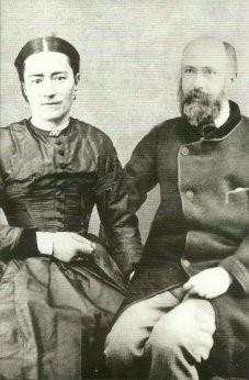 A maioria das fotos que existem do casal são montagens de fotos individuais, como esta.