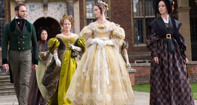 """Cena do filme """"The Young Victoria"""", de 2008, mostra a variedade de estilos usados no início da década de 1830."""