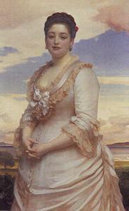 Hannah Primrose, Condessa de Rosebery, a mulher mais rica da Bretanha, no século 19.