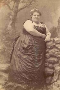 Lottie Grant. Morreu aos 45 anos com 294kg.
