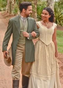 Pedro Carvalho (Miguel) e Gabriela Moreyra (Juliana)