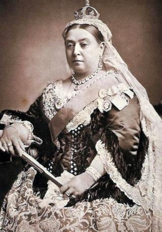 A Rainha Vitória não foi um modelo de magreza para a época.