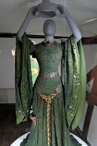 Vestido restaurado em 2011.