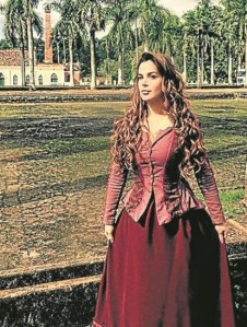 Robertha Portella será Petúnia em 'Escrava mãe'.