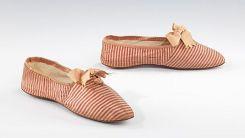 Sapatos de 1845 - 1860.