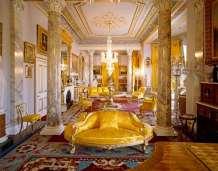 Com um interior magníficio, o Quarto de Conselho era usado para entretenimentos, como danças e jogos.