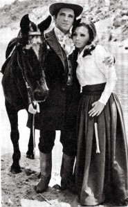 Maria Luiza Castelli com Sérgio Cardoso.