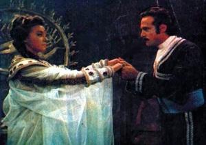 Diana Morel com Carlos Alberto