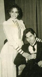 Sandra Bréa e Eduardo Tornaghi.