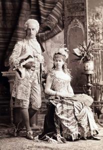 William e Alva Vanderbilt.