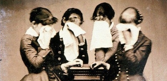 Fotografia de luto, 1878.