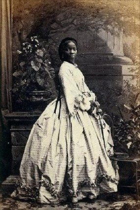 Lady Sara Forbes Bonetta, 1862.