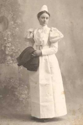 Enfermeira na Pensilvânia, 1889.