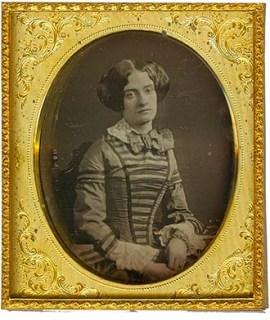 Daguerreótipo de 1858.